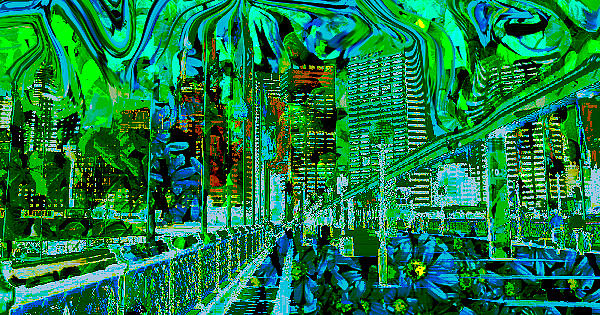 Darling Harbour Sydney Digital Art by Moreno Pazin