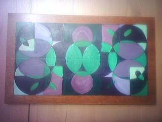 Original Painting - Darnilliouscope Lvdr Grn Original by Darnillious Designs
