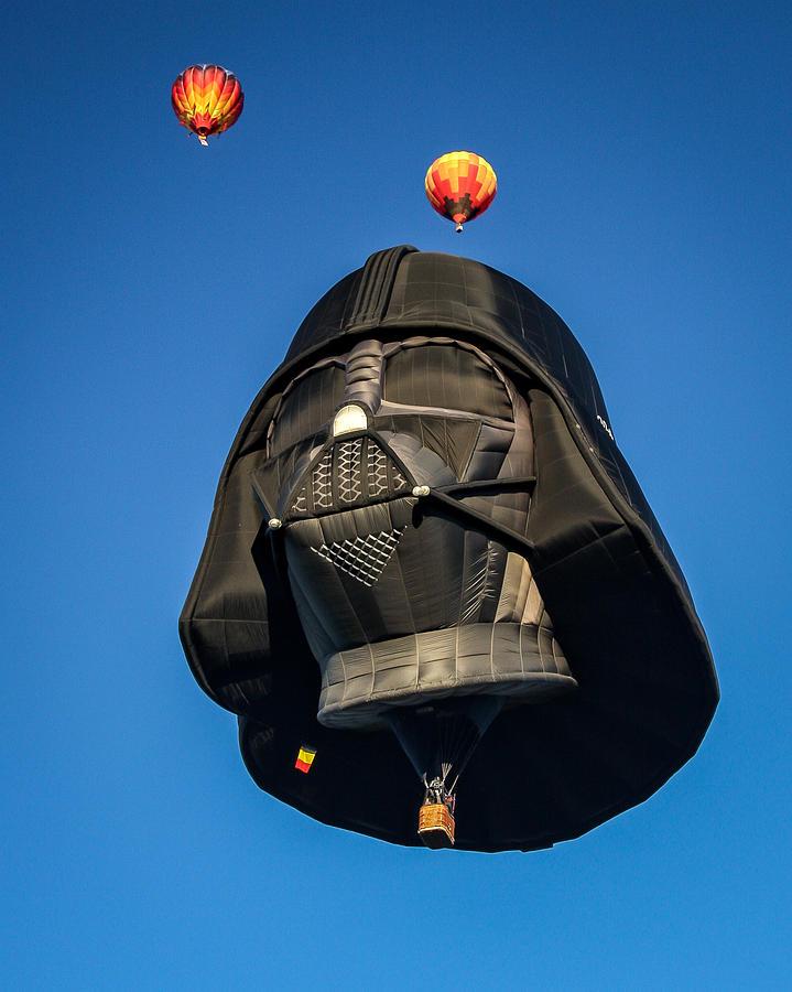 Darth Photograph - Darth Balloon by Joe Myeress