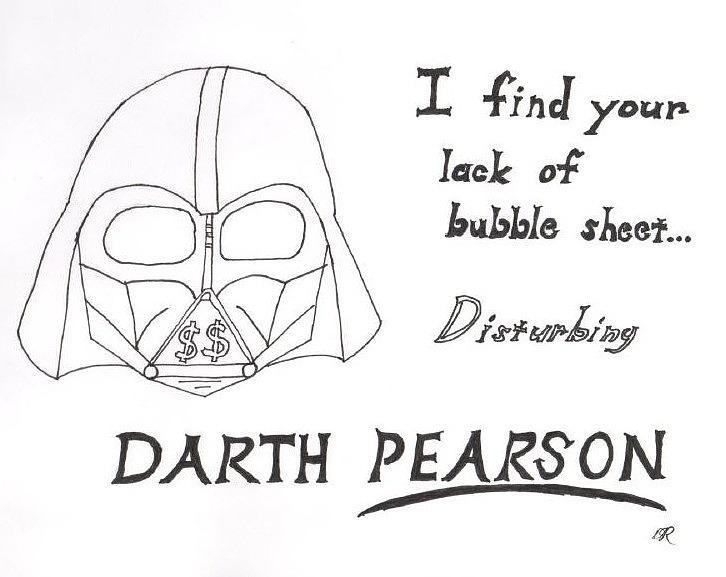 Darth Vader Photograph - Darth Pearson by David S Reynolds