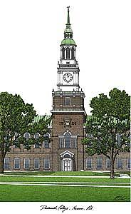 Dartmouth College Photograph - Dartmouth College by Campus Images