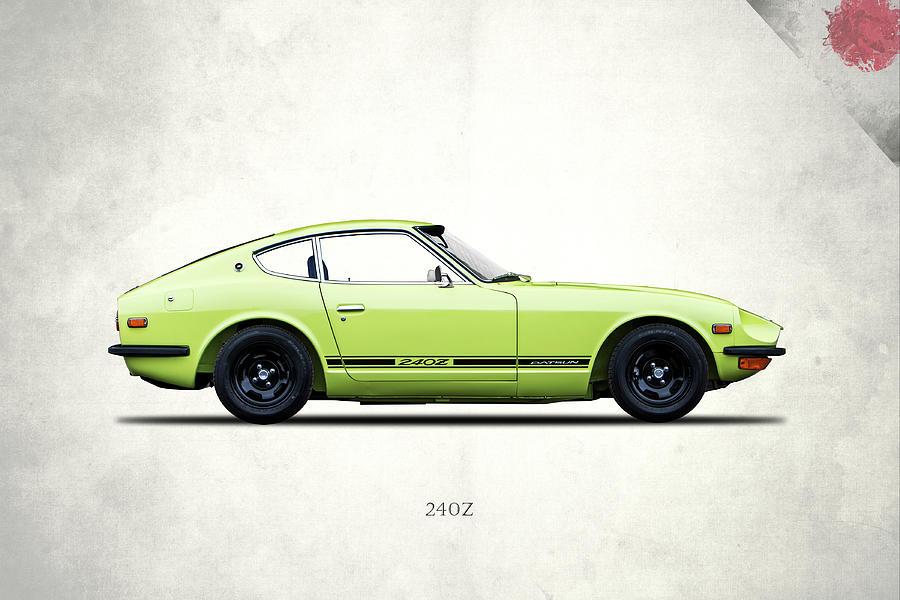 Datsun Photograph - Datsun 240z by Mark Rogan