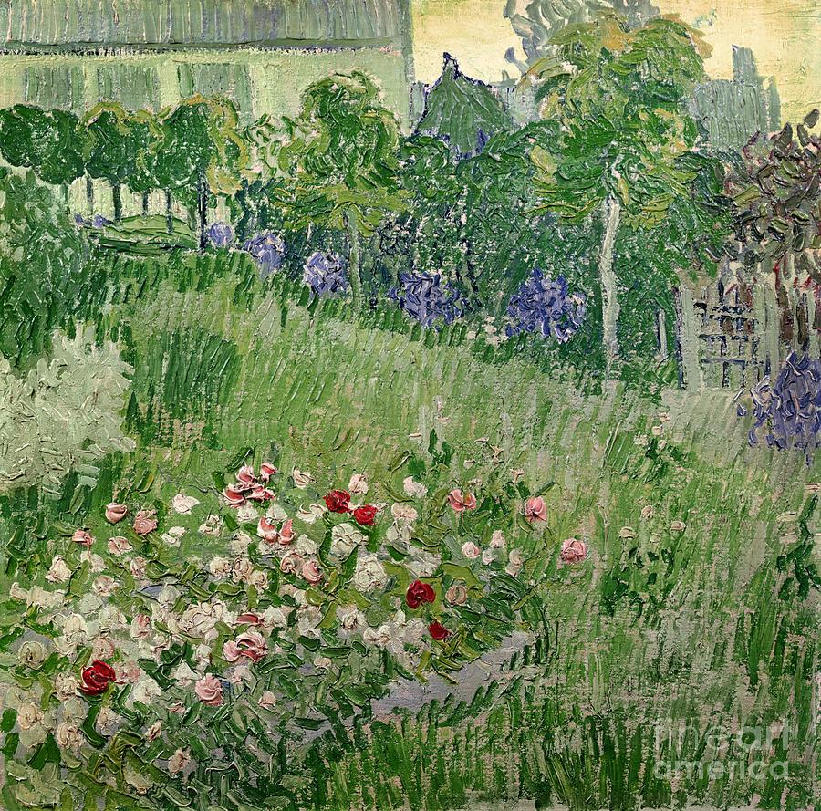 Daubigny S Garden Painting By Vincent Van Gogh
