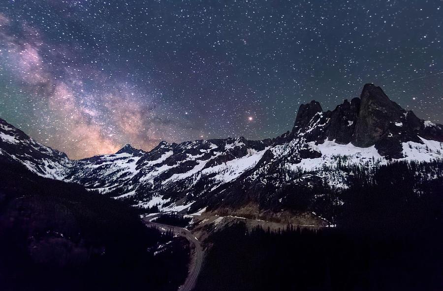 North Photograph - Daunting Journey by Ryan McGinnis