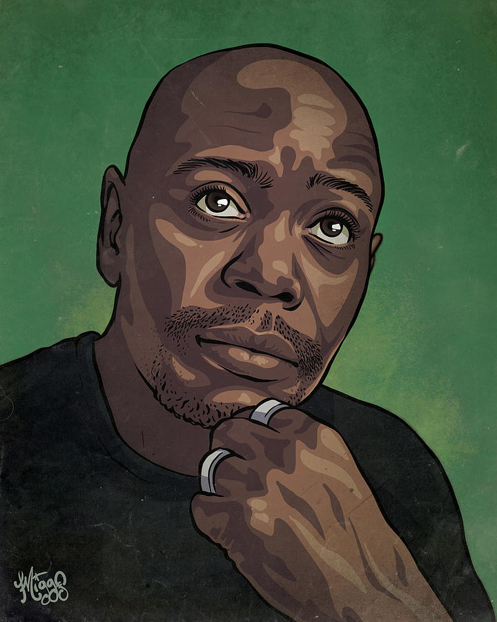 Dave Chappelle Drawing - Dave Chappelle by Miggs The Artist