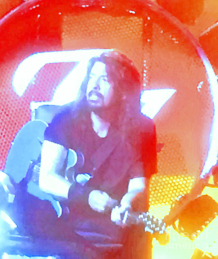 Dave Grohl In Concert by Cindy Lee Longhini