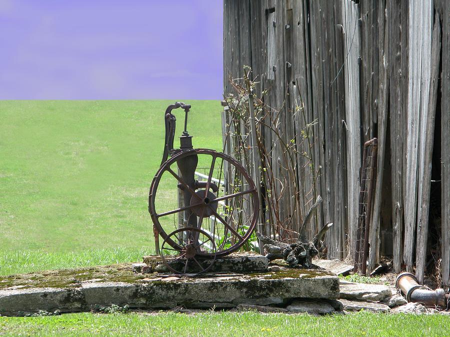 Wagon Wheel Photograph - Dave by Martie DAndrea