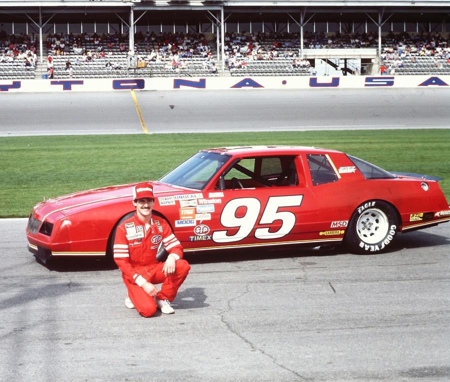 Davey Allison Rookie # 95 Chevrolet At Daytona Photograph