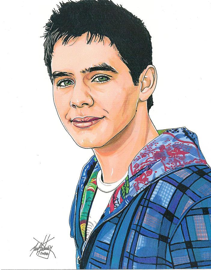 American Idol Drawing - David Archuleta by Neal Portnoy