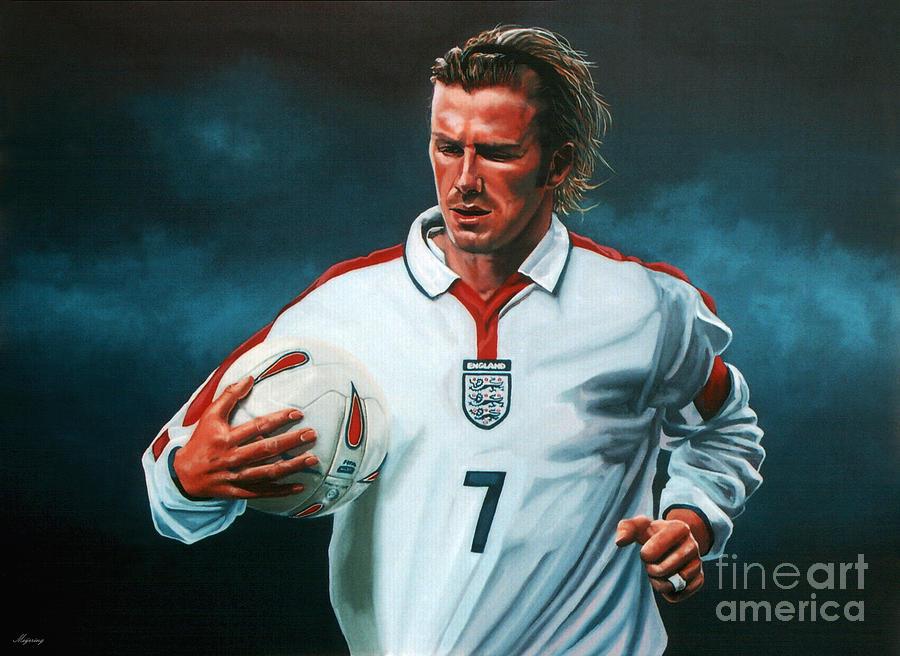 David Beckham Painting - David Beckham by Paul Meijering