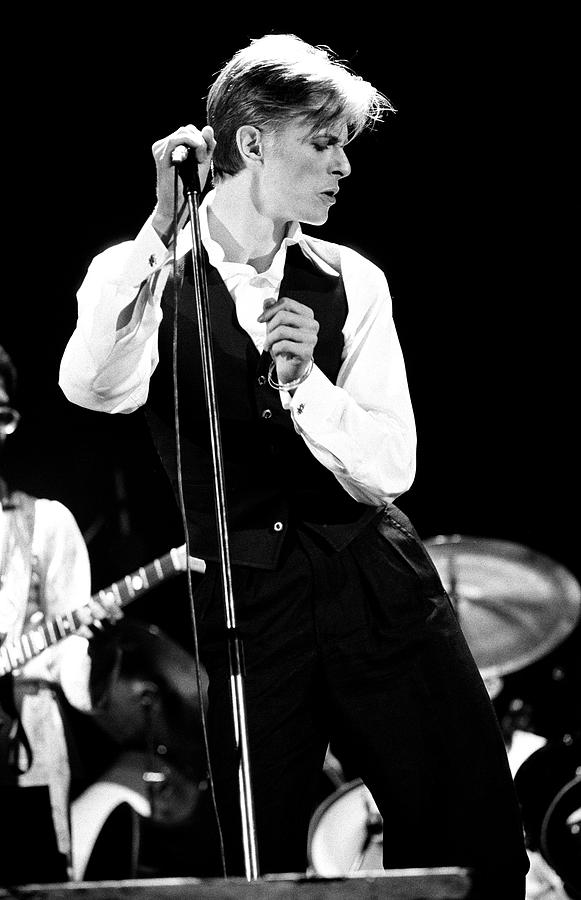 David Bowie 1976 2 Photograph By Chris Walter