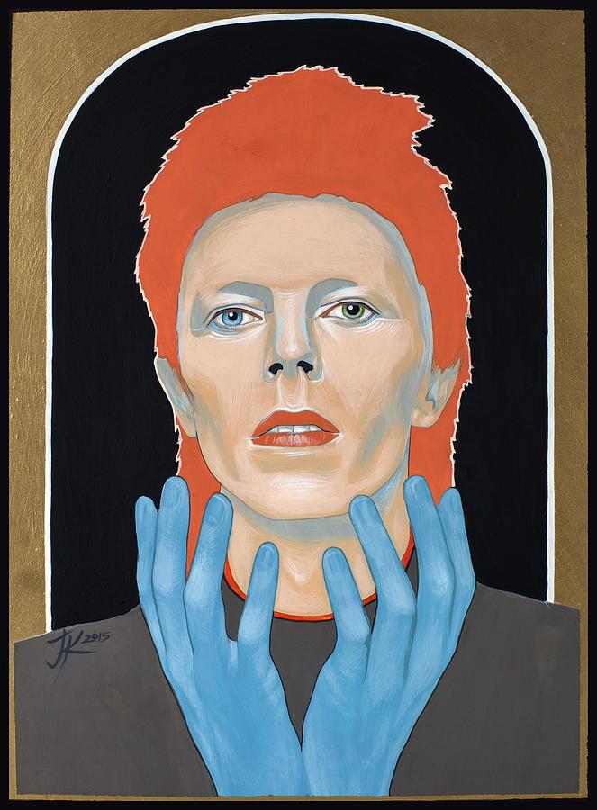 David Bowie Painting - David Bowie 3 by Jovana Kolic