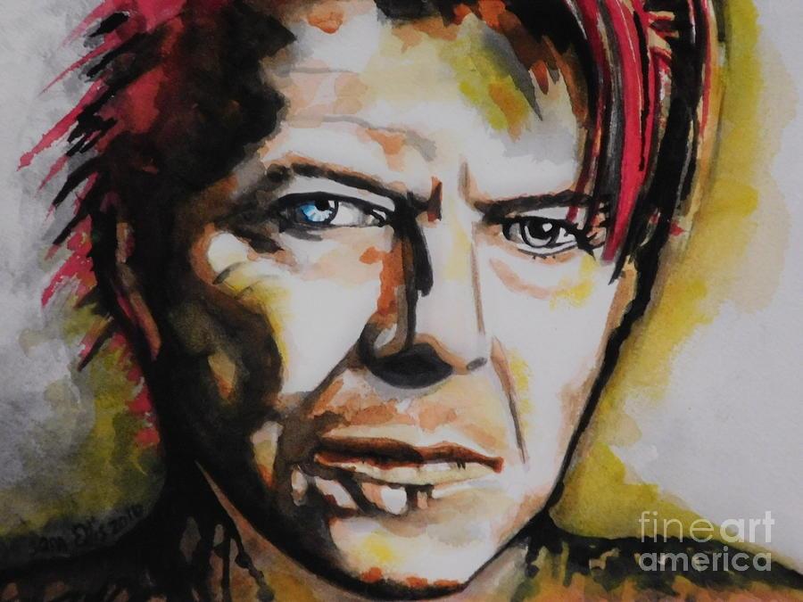 David Bowie by Chrisann Ellis