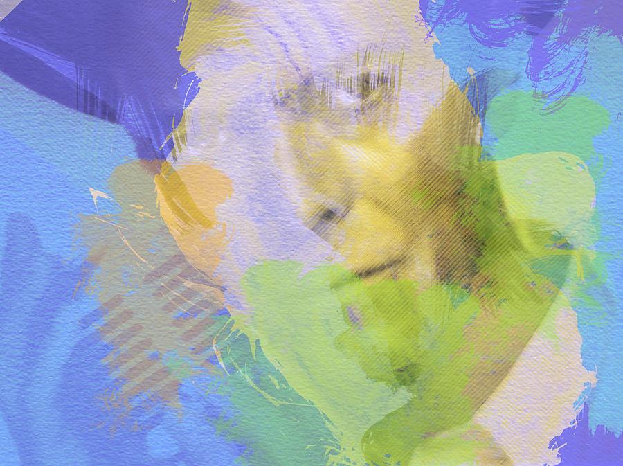 David Bowie Painting - David Bowie by Naxart Studio