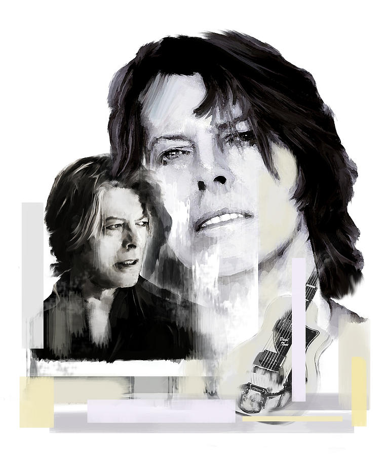 David Bowie Thursday's Child by Iconic Images Art Gallery David Pucciarelli