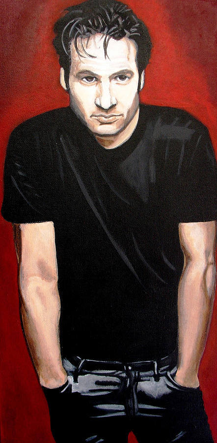 Male Painting - David by Jacqui Simpson
