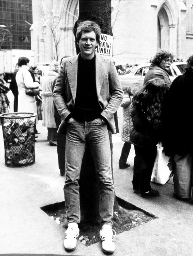 1980s Fashion Photograph - David Letterman, 010882 by Everett