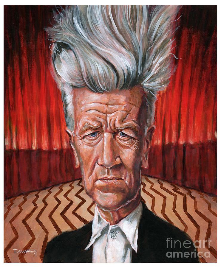 David Lynch by Mark Tavares