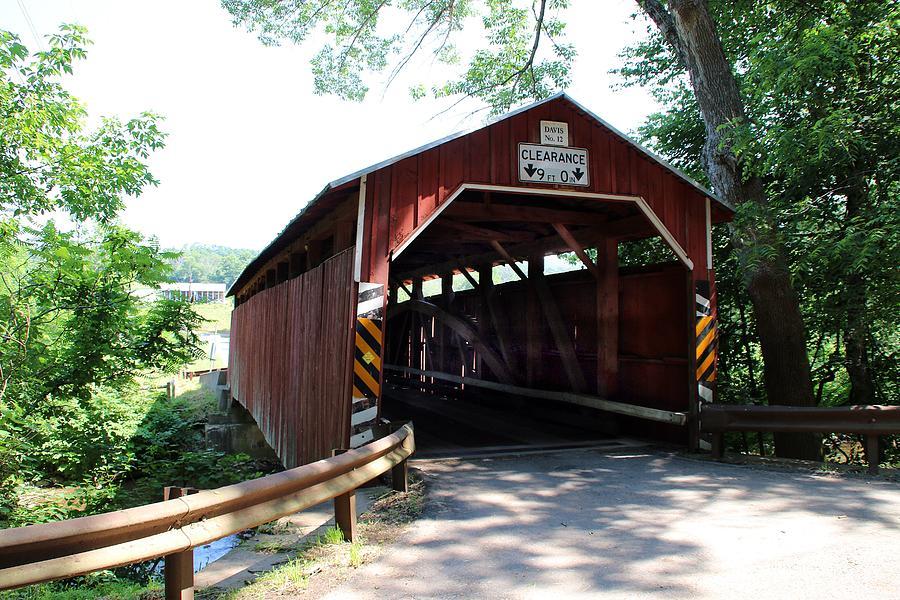 Davis Covered Bridge by Wayne Toutaint
