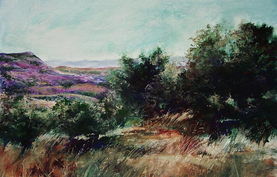 Pastel Painting - Davis Mountain by Marlene Gremillion