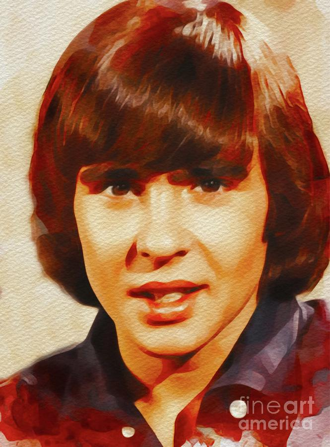 Davy Jones, Music Legend Painting