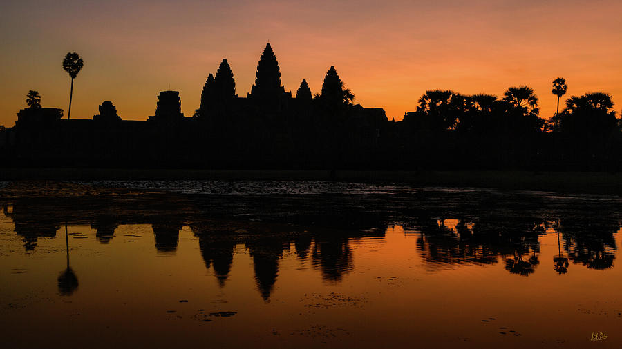 Dawn at Angkor Wat by Stuart Gordon