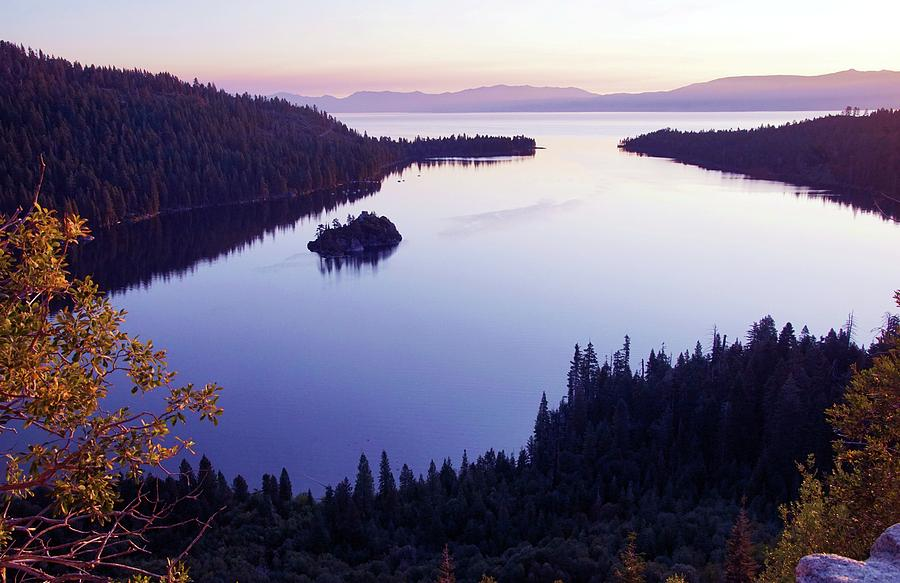 Dawn At Emerald Bay, Lake Tahoe by Michael Courtney