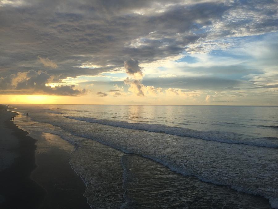 Folly Beach Photograph - Dawn At Folly Beach by Matt Woolsey