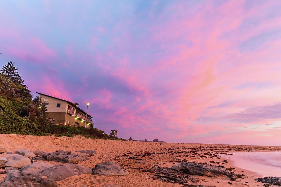 Dawn Beach And Sky Scape Photograph