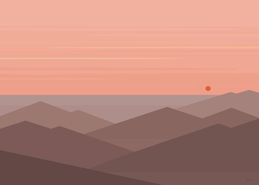 Dawn Breaks II by Val Arie