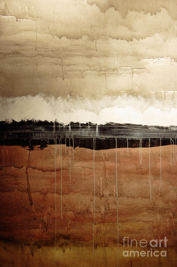 Abstract Painting - Dawn by Brian Drake - Printscapes