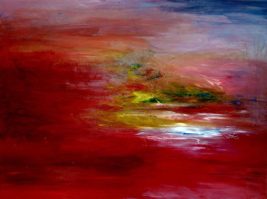 Scene Painting - Dawn by LeeAnn Alexander