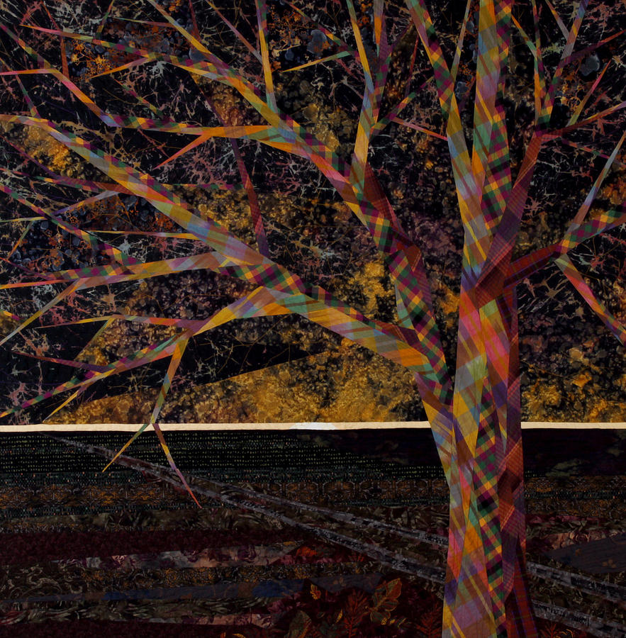 Landscape Tapestry - Textile - Dawn by Linda Beach