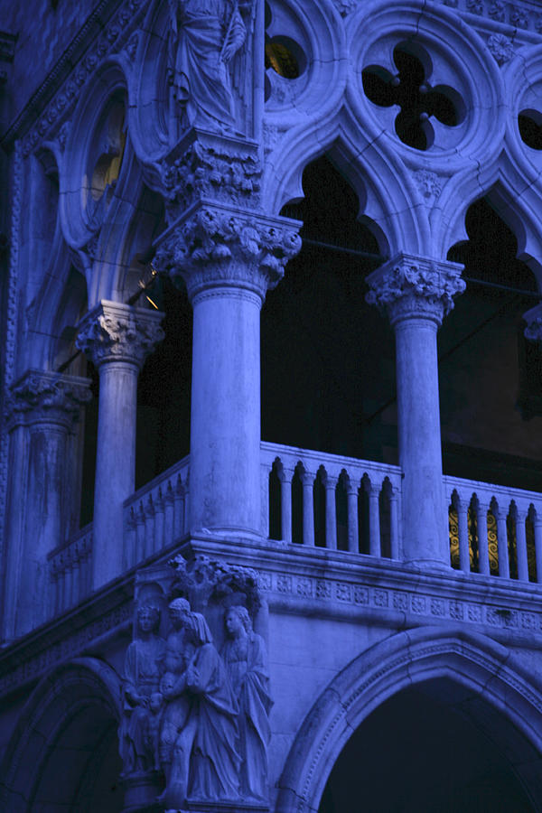 Doge's Palace Photograph - Dawn Magic in Venice by Ave Guevara