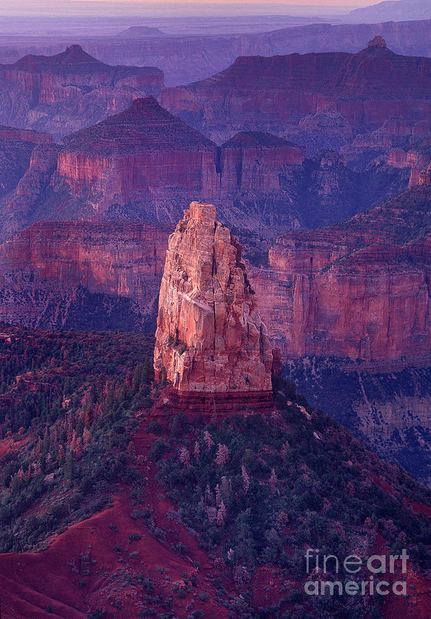 dawn mount hayden point imperial north rim grand canyon national park arizona by Dave Welling