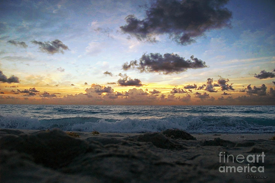 Shoreline Photograph - Dawn Of A New Day 141a by Ricardos Creations