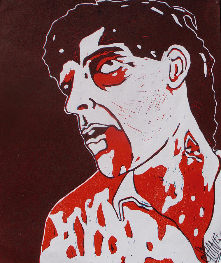 Zombie Painting - Dawn Of The Dead Print 3 by Sam Hane