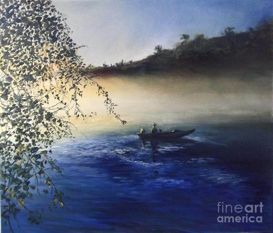 Dawn On The Lake Painting
