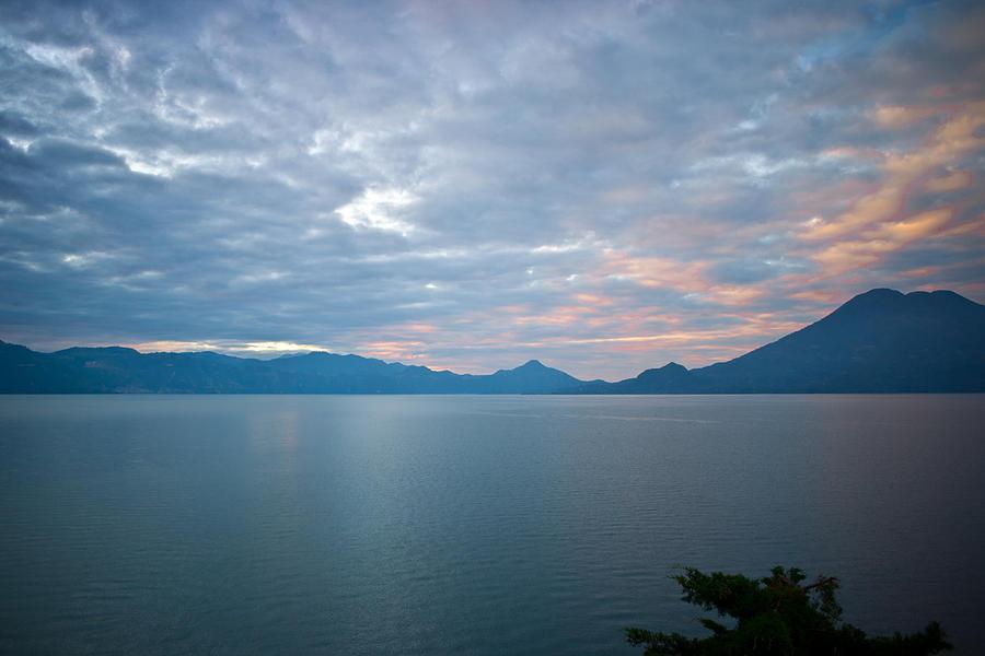 Central Photograph - Dawn Over The Volcano 5 by Douglas Barnett