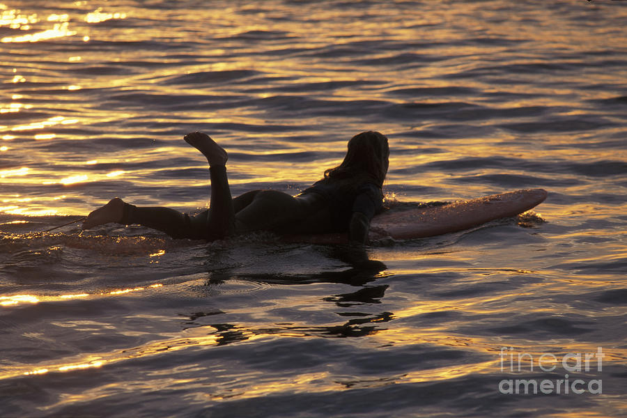 California Photograph - Dawn Patrol by Stan and Anne Foster