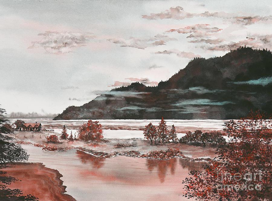Orange Dawn by LISA DEBAETS