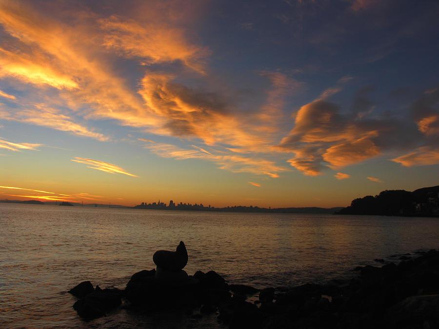 Dawn Photograph by Vari Buendia