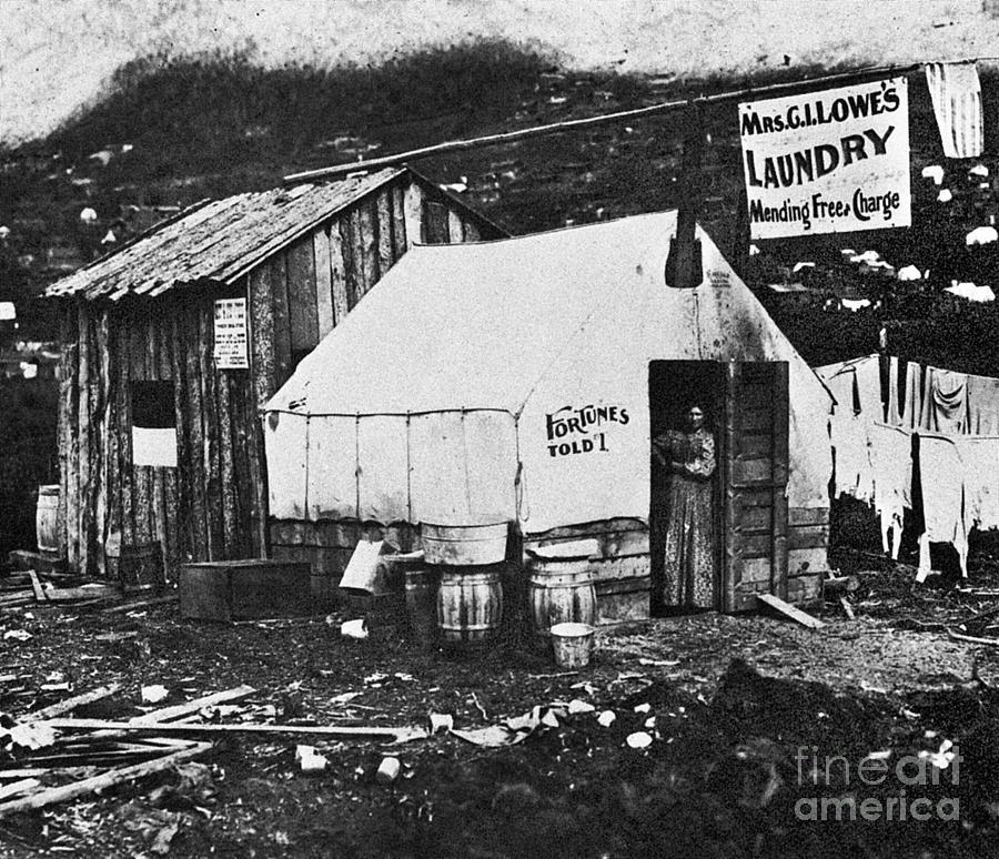 1900 Photograph - Dawson City, C1900 by Granger