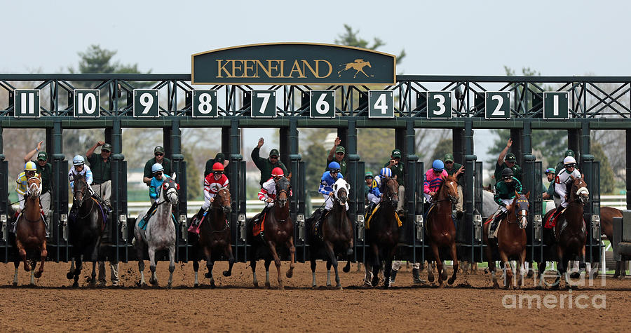 Keeneland Race Day Photograph