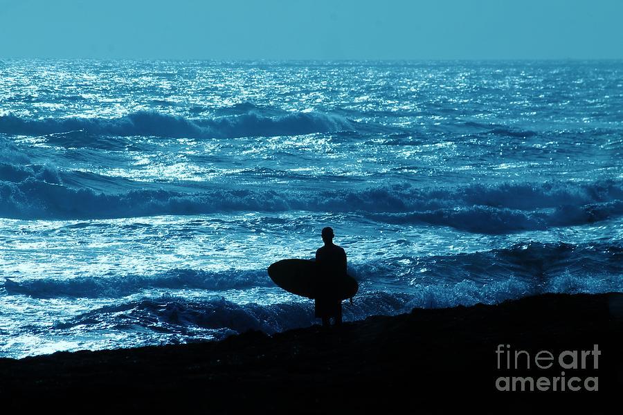 Surfboard Photograph - Day Break Ride by Keri West