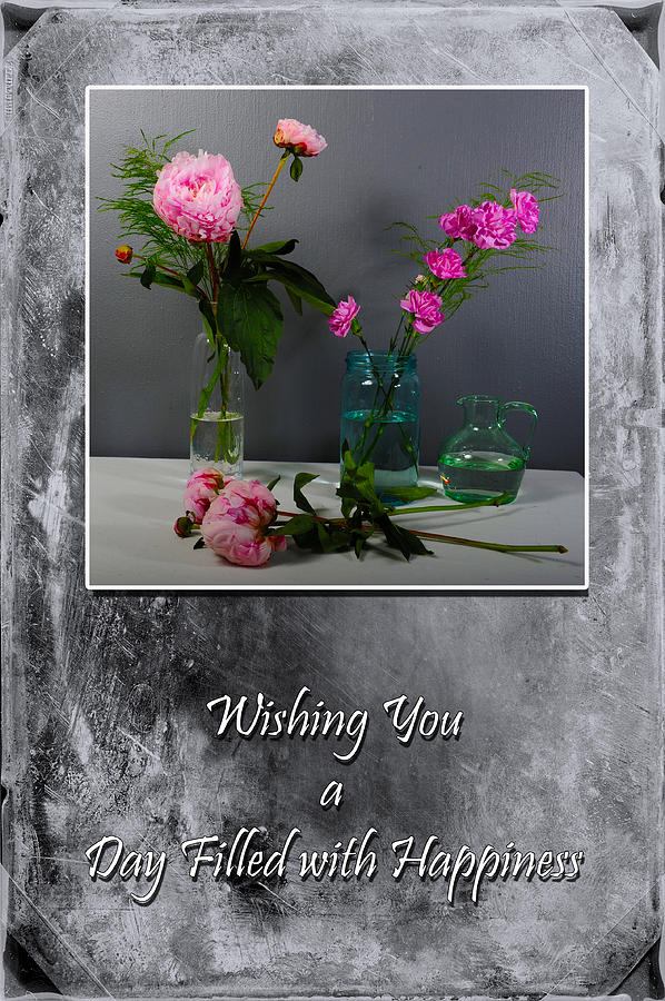 Carnations Photograph - Day Filled With Happiness by Randi Grace Nilsberg