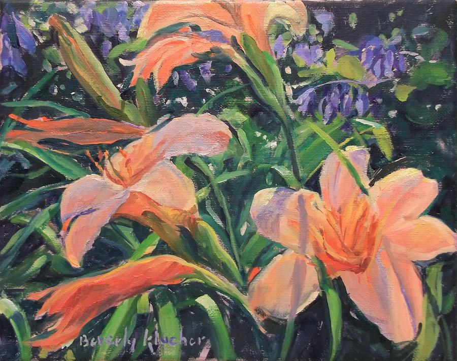 Day Lilies by Beverly Klucher