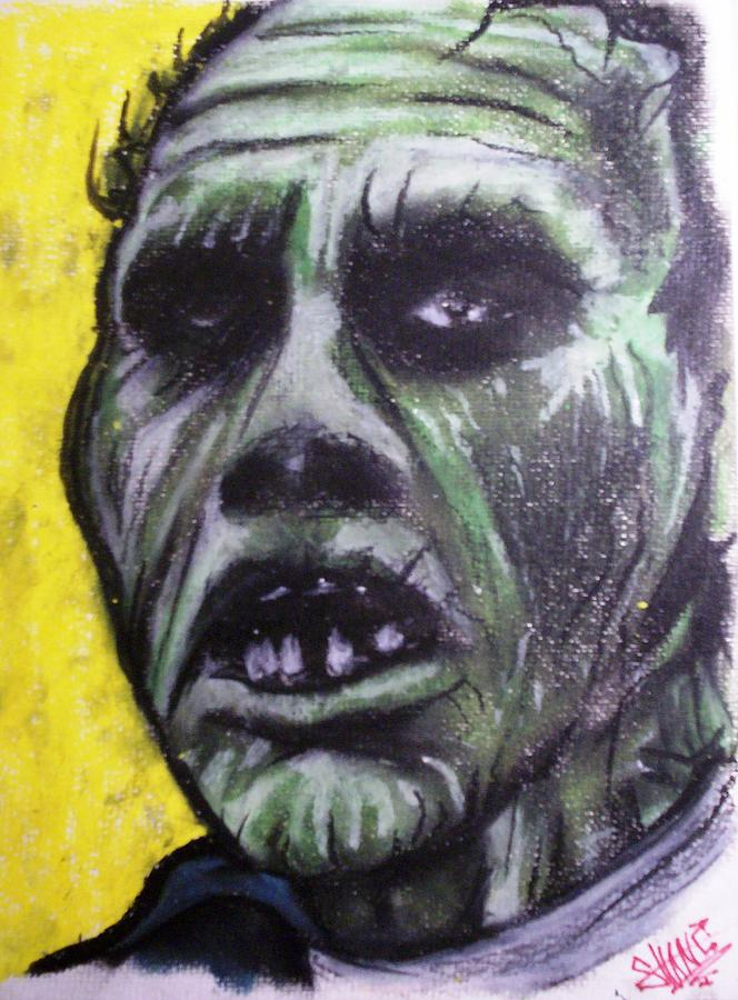 Day Of The Dead Drawing - Day Of The Dead - Bub by Sam Hane