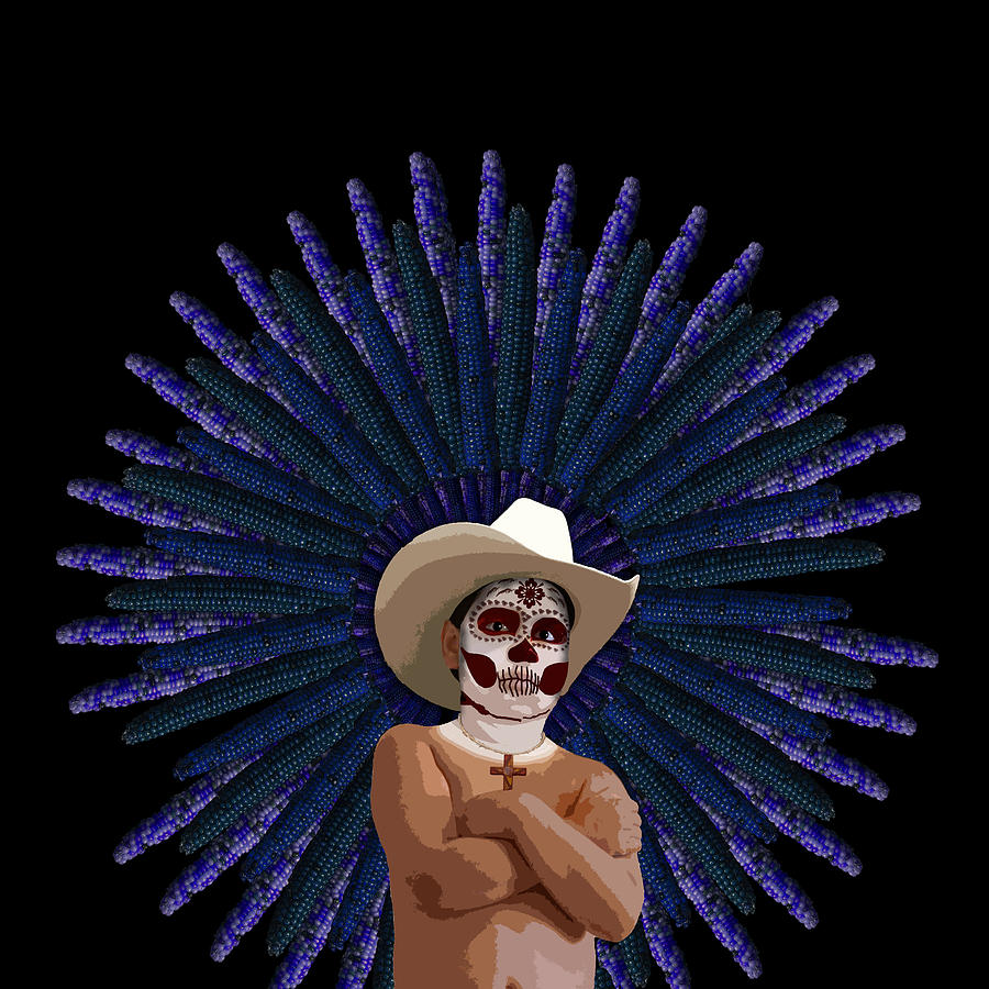 Day Of The Dead Digital Art - Day Of The Dead by Julie Rodriguez Jones