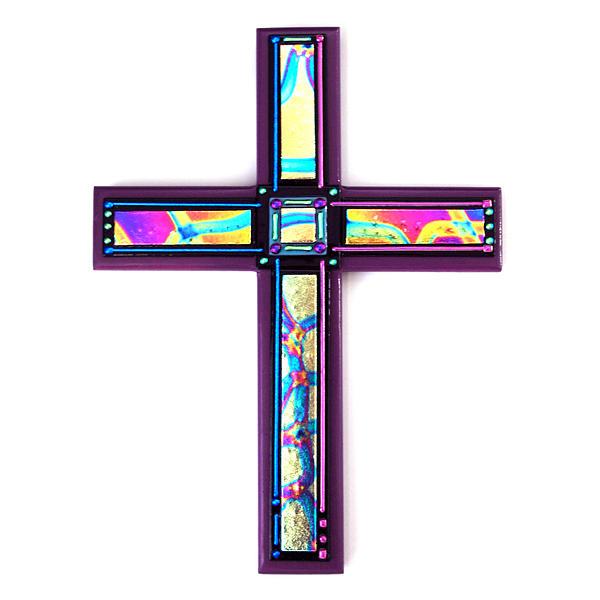 Cross Mixed Media - Day Of The Dead V by Nancy Bonig